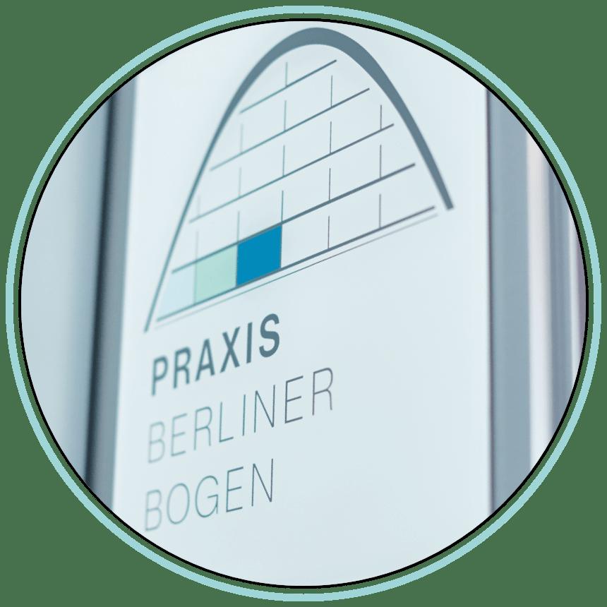 Praxis Logo Türbereich